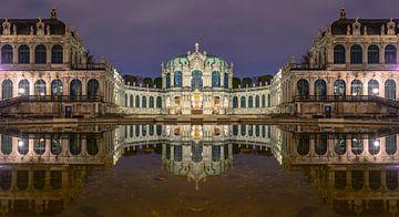 Dresdner Zwinger à l'heure bleue sur Tilo Grellmann | Photography
