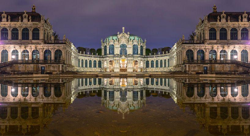Dresdner Zwinger zur blauen Stunde von Tilo Grellmann | Photography