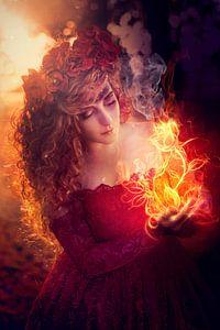 Flower Girl von Cindy Stegeman