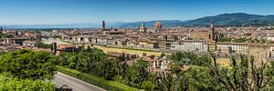 FLORENZ Aussicht vom Piazzale Michelangelo   Panorama