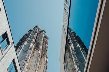 Nieuw en oud Mechelen in harmonie. van Simon Peeters