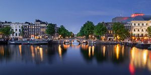 Panorama Amsterdam Amstel