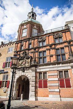 Groothoofdse poort in Dordrecht van Petra Brouwer