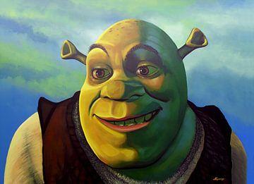 Shrek schilderij von Paul Meijering