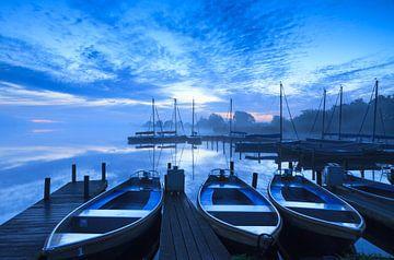 Marina blue hour! von Sander van der Werf