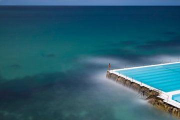 Icebergs Schwimmbad Bondi Beach von Rob van Esch