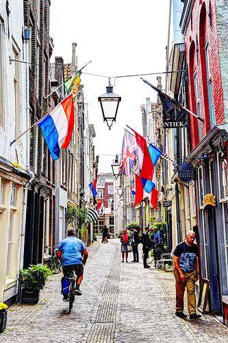 Dordrecht Vleeshouwersstraat Nederland