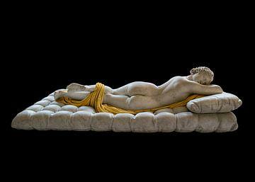 Slapende Hermaphroditus in het Louvre van Jan Sportel Photography