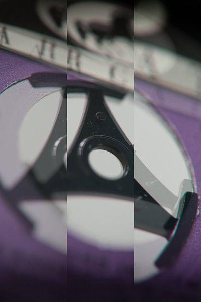 Detail van het label vam een 45 toeren single. (2)