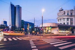 Wenen - Urania / Uniqa Tower van Alexander Voss