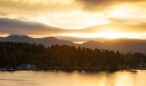 Zonsopgang, Lake Placid, Verenigde Staten van