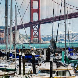 Golden Gate Bridge   Presidio Yacht Club van Ricardo Bouman   Fotografie
