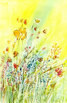 Blumentanz von Claudia Gründler