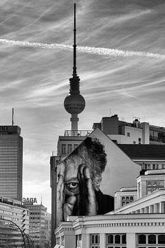 Uitzicht vanaf Prenzlauer Berg in Berlijn