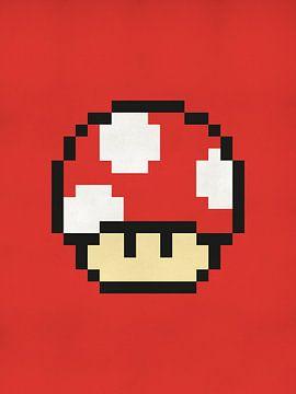 Champignon de Mario - Jeu rétro Nintendo
