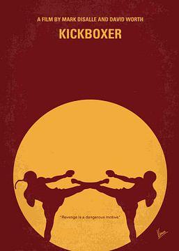 No178 My Kickboxer minimal movie poster van Chungkong Art