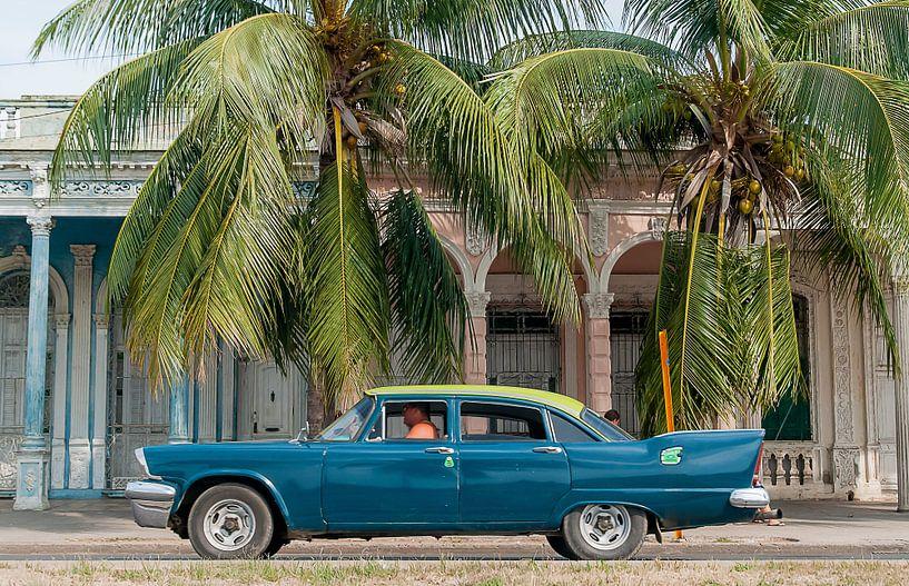 Die Promenade in Cienfuegos von Theo Molenaar