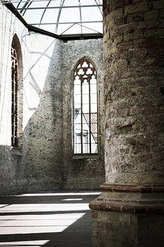 kerk raam van Iris van der Veen