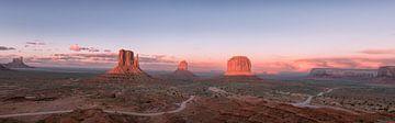 Panorama Monument Valley von Nicolas Ros