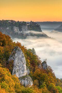 Herfst in het Donaudal van Michael Valjak