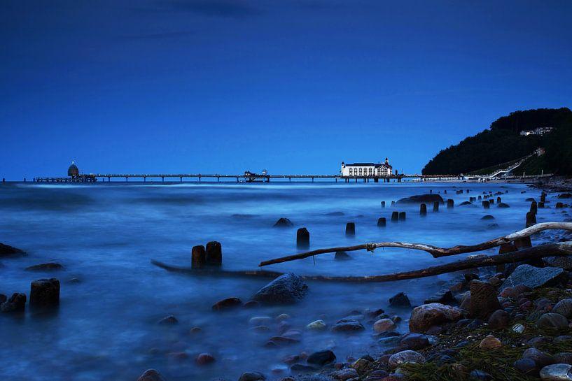 Seebrücke Sellin auf Rügen von Frank Herrmann