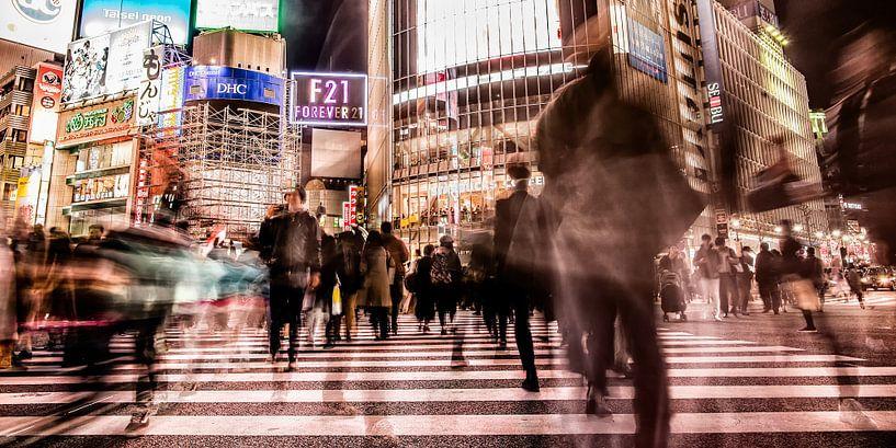 Shibuya Crossing van Edwin Benschop