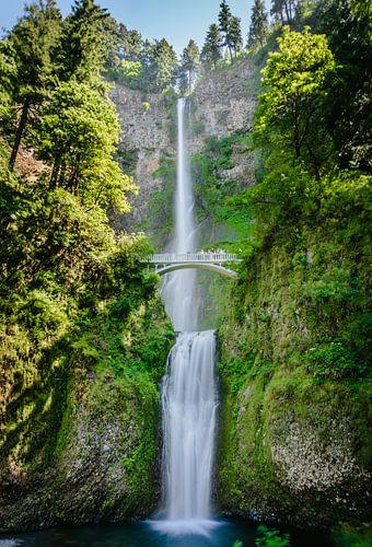 Multnomah falls - Oregon USA van