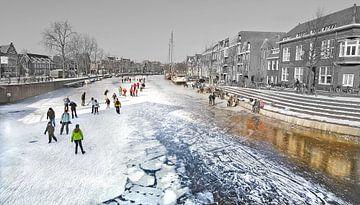 Haarlem Winter van Dalex Photography