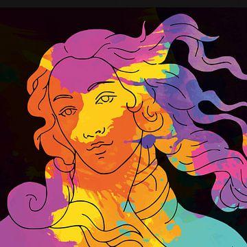 Tribute to Sandro Botticelli van Harry Hadders
