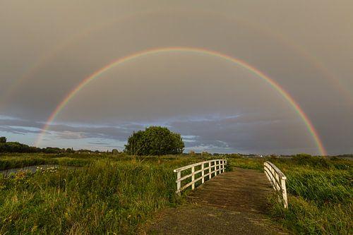 Regenboog in het Land van Cuijk