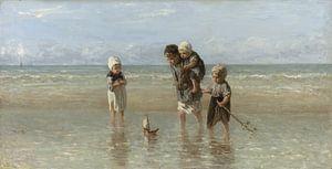 Kinderen der Zee, Jozef Israëls