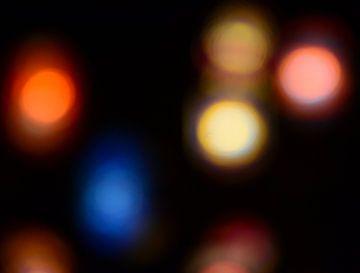 Gekleurde verlichting van Onno Smit