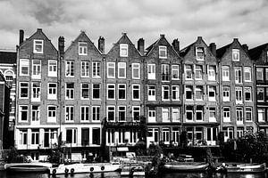 Karakteristieke Amsterdamse huizen van