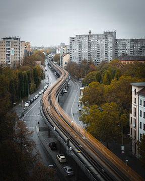 Metrowachtrij van Martin Kröhner