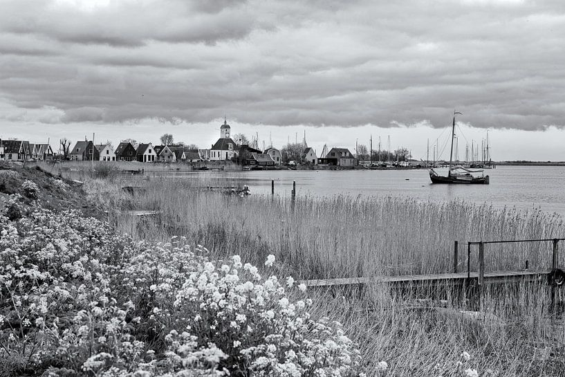 Gezicht Op Durgerdam van Peter Bongers