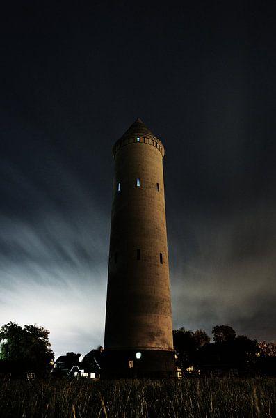 watertoren pietje potlood nieuwkoop van Thomas Spaans