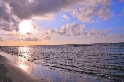 Zonsondergang op Ameland