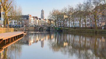 De Utrechtse Domtoren vanaf de Bemuurde Weerd van Michel Geluk