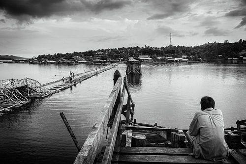 Sangkhla Buri Mon brug van