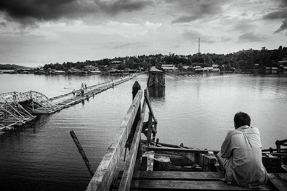 Sangkhlaburi Mon brug van Stijn Cleynhens