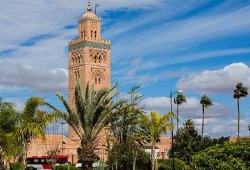 Koutoubia-Moschee in Marrakesch  von marco de Jonge