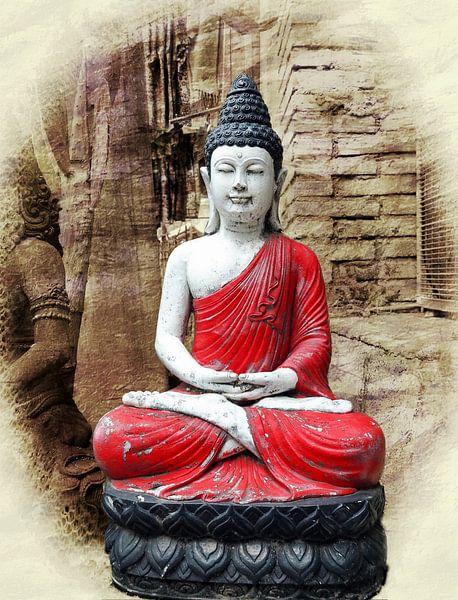 Buddha van Eduard Lamping