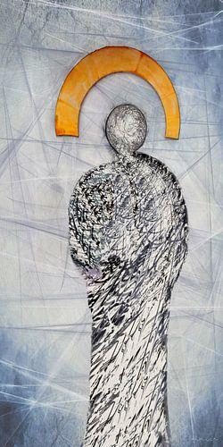 Lichtgestalt - Engel abstrakt