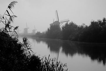 Kinderdijk 3 von Ewald Verholt