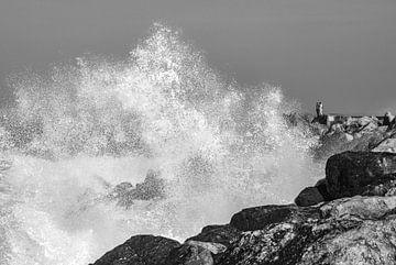 Der Mensch und die Welle von Juriaan Wossink