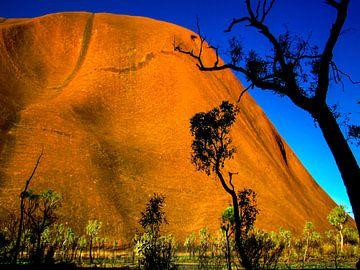 Uluru of Ayers rock, Australië van