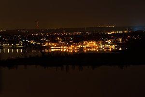 Haven bij nacht