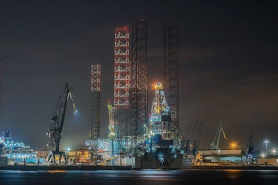Damen Verolme Shipyard van Nico Dam