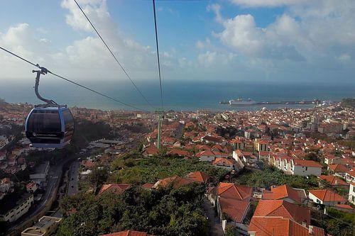 Portugal / Madeira / Funchal vanuit de kabelbaan / 2006