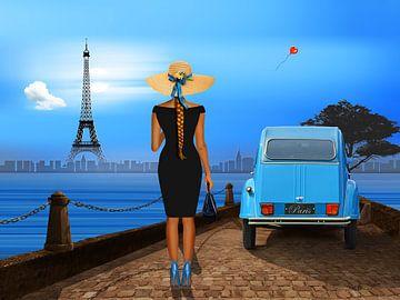 Liefde in Parijs van Monika Jüngling